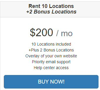 Rent 10 Location on Texas Man and van